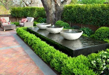 садовые фонтанчики на участке