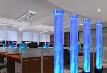пузырьковые колонны для декорирования