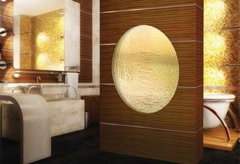комнатный фонтан в ванной