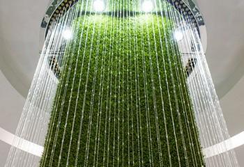 водопад струнный цилиндрический