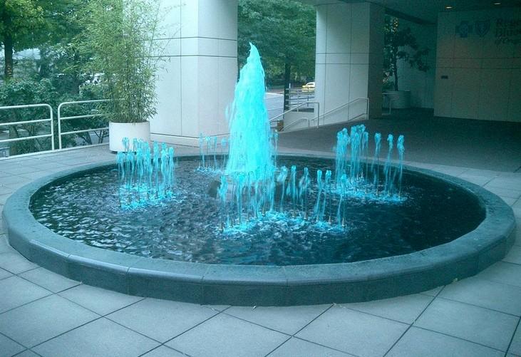 садовый фонтан декоративный