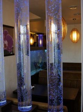 Пузырьковые колонны в доме