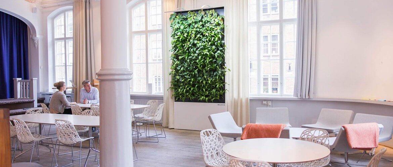 зеленая стена мобильная