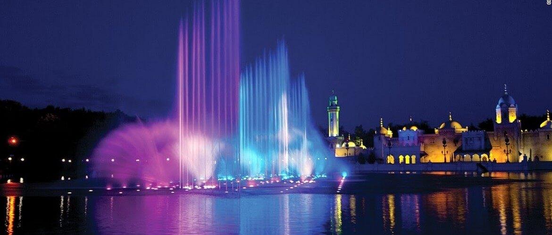 светомузыкальный фонтан плавающий